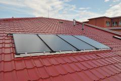 solarny ohrievač